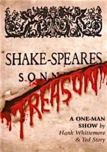 """Script Cover of """"Shake-speare's Treason"""""""