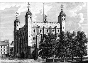 """The Tower of London - Where Southampton is """"like a jewel hung in ghastly night"""" facing execution for high treason"""