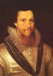 The Earl of Essex, beheaded at the Tower Green on February 25, 1601