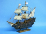Model of an Elizabethan Galleon