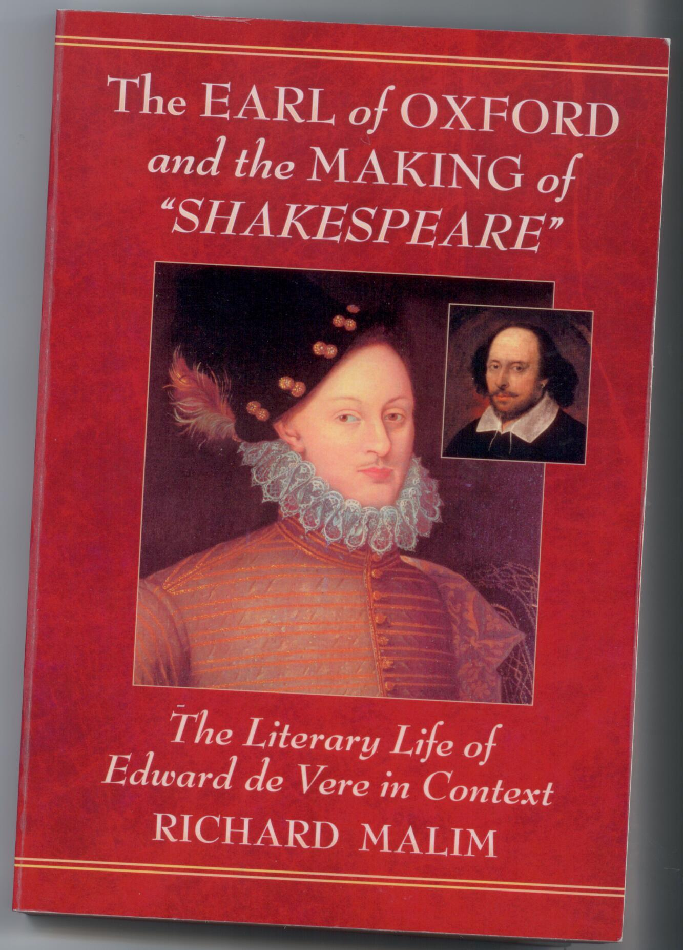 Did Edward De Vere have poor quality writing?