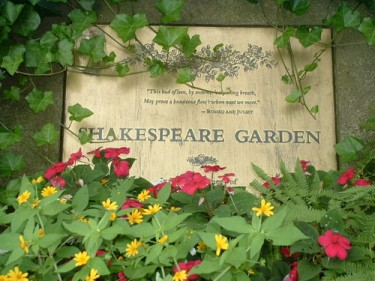 Shakespeare Garden Hank Whittemore 39 S Shakespeare Blog