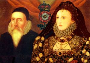 Dr. John Dee and Queen Elizabeth