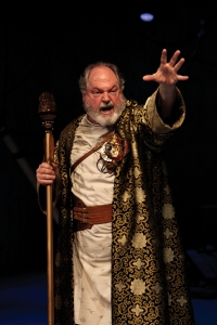 Prospero as played by Michael Winters