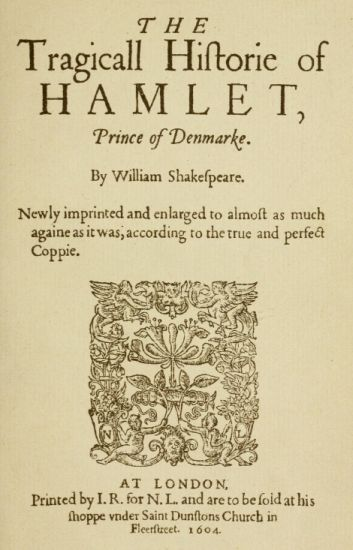 Hamlet 2ndQuartoCover2