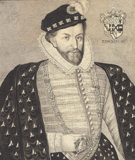 Christopher Hatton      1540-1591