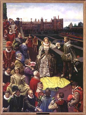 Elizabeth & Courtiers