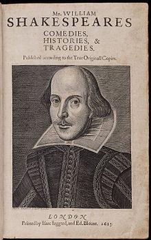 First Folio - 1623