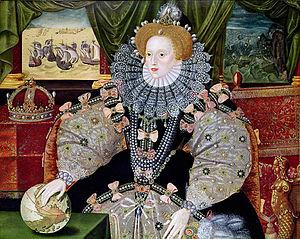 Elizabeth I of England   Armada Portrait 1588