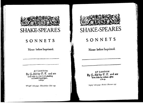 Two sonnet covers