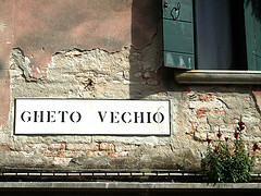 ghetto sign venice
