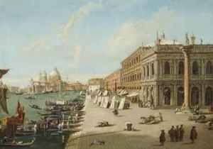 """il Molo,"" Portia's landing place in front of the Ducal Palace and Courts of Justice"