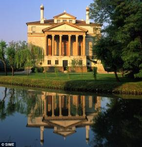 Villa Foscari on the River Brenta, built by 1560, is Portia's estate of Belmont
