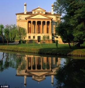 Villa Foscari on the River Brenta, built by 1560, is Portia's estate of Belmont