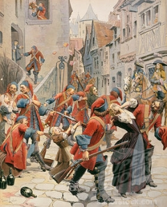 Persecution of the French Huguenots (Leloir, 1904)
