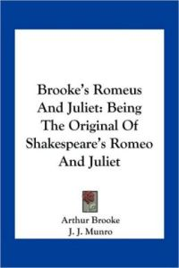 a book of romeus and juliet
