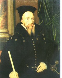 William Cecil  Lord Treasurer Burghley 1520-1598