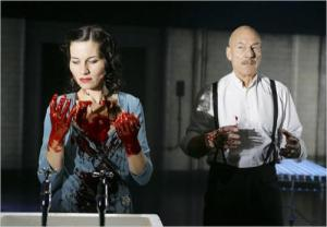 Lady Macbeth and Macbeth (Kate Fleetwood and Patrick Stewart, 2007)