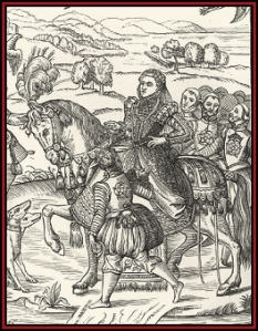 Elizabeth I of England on horseback