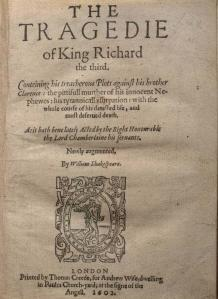 Shakespeare Quartos Project
