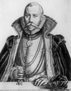 Astronomer Tycho Brahe of Denmark 1546-1601