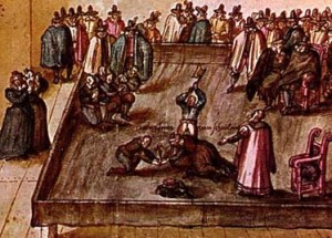 Execution of Mary Stuart Queen of Scots  February 8, 1587