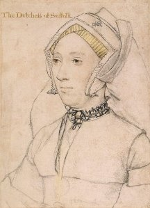 Kate Willoughby Duchess of Suffolk  1519 - 1580