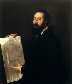Titian Portrait of Guilio Romano, c/ 1536