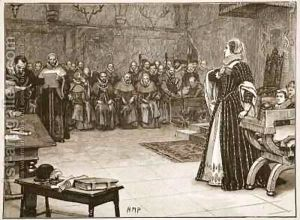 Trial of Mary Stuart Queen of Scots