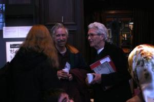 Oxfordians at the Folger: Shelly Maycock, Roger Stritmatter & Hank Whittemore
