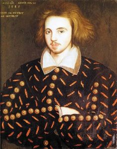 This portrait may be of Christopher Marlowe ... Made in 1585, it was found at Corpus Christi College, where Marlowe was a student that year at age twenty-one