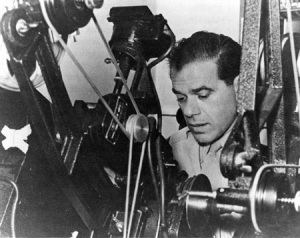 The great director Frank Capra during WWII