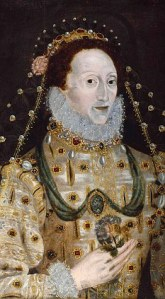 Portrait of Elizabeth in the 1580s