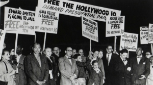 Screenwriters, actors and directors were blacklisted and even jailed for being under suspicion as enemies of the U.S.