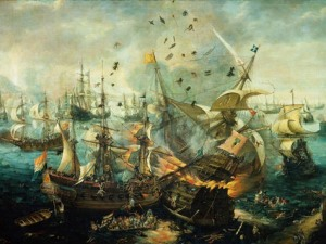 England defeats the Spanish Armada - 1588