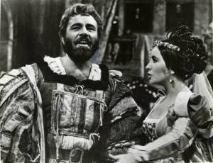 Richard Burton and  Elizabeth Taylor - 1966 Petruchio & Kate
