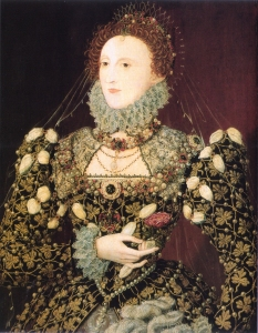 Elizabeth I  The Phoenix Portrait circa 1575