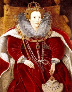 Elizabeth I  1533 - 1603  In Parliament Robes