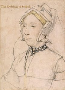 Catherine Willoughby Duchess of Suffolk 1519-1580