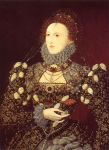 The Phoenix Portrait of Queen Elizabeth by Nicholas Hilliard, c. 1575 - National Portrait Gallery, London